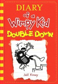 Jeff kinney west calder high school library now eleven wimpy kid books but here it is double down by jeff kinney continuing the hilarious adventures of greg heffley solutioingenieria Images